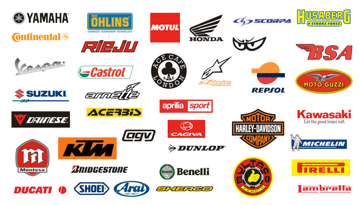 Logos Marques Motos Pericot